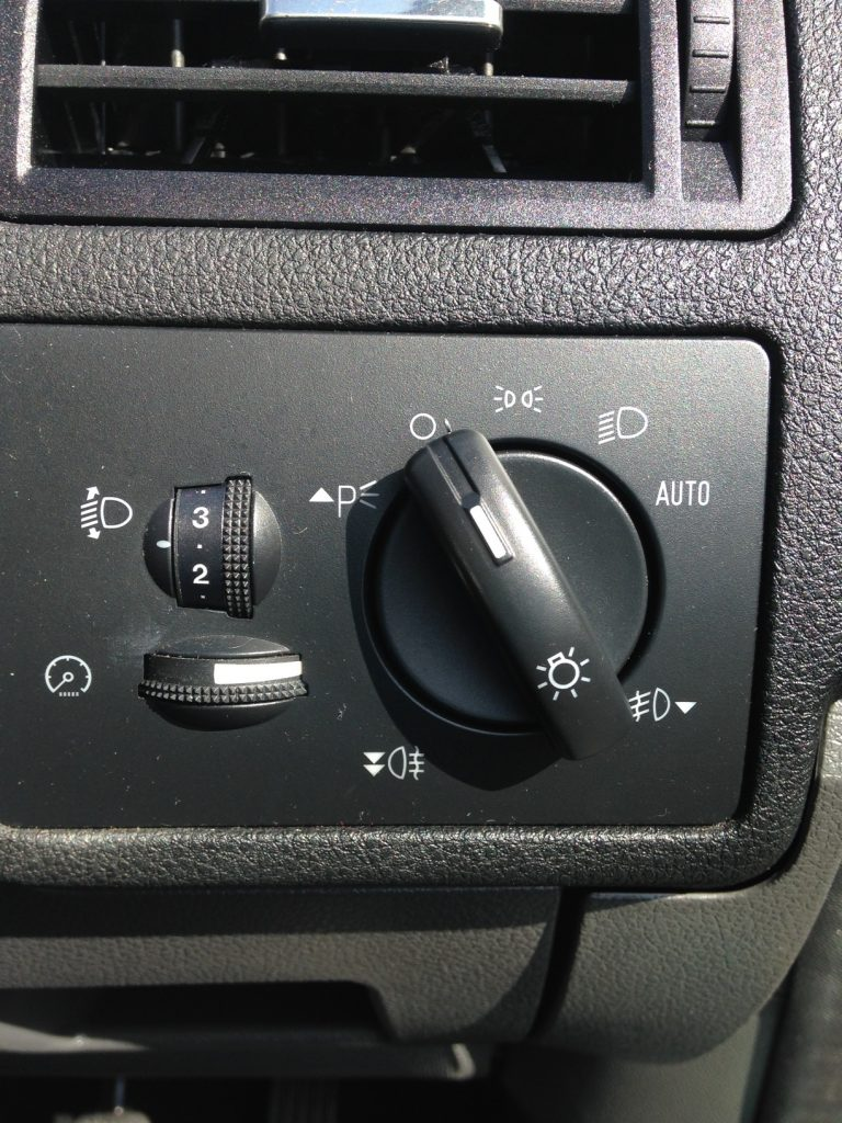 Windscreen Auto Lights Sensor